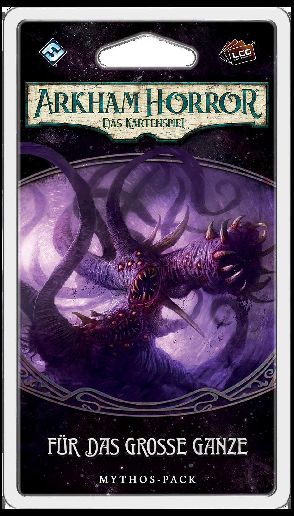 Das Mythos Pack Für das Große Ganze zugehörig zur Arkham Horror LCG Erweiterung Der gebrochene Kreis