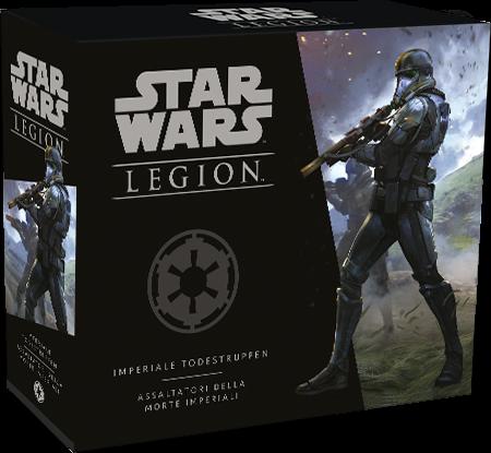 Box in der sich die Einheiten-Erweiterung für Star Wars Legion befindet