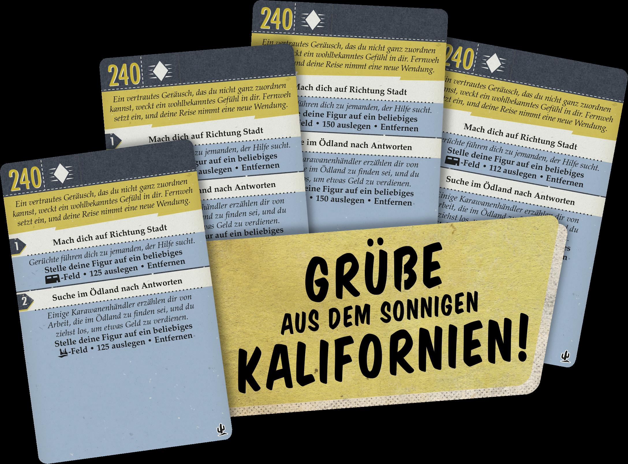 Boxinhalt Fallout Brettspiel