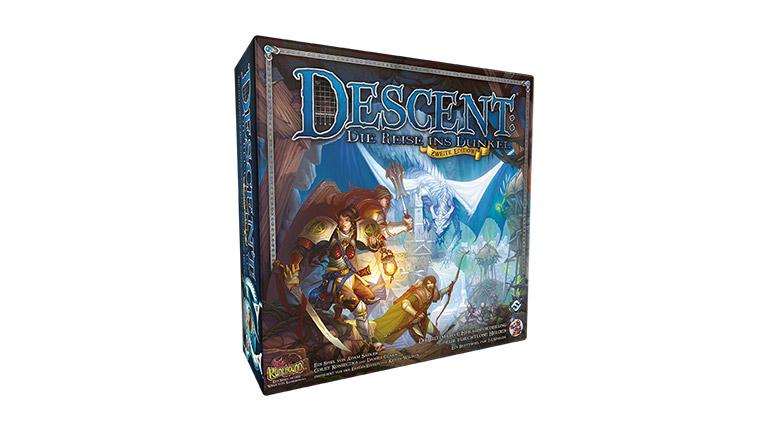 Descent 2 Spiel Schatten von Nerekhall Erweiterung Asmodee NEU/&OVP