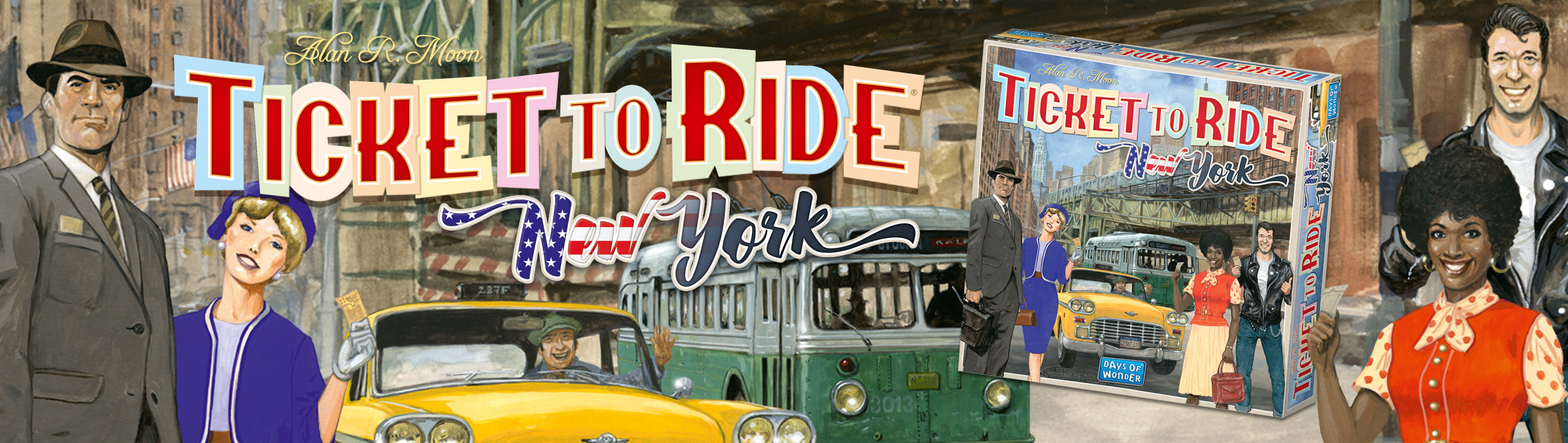Ticket to Ride NY artwork